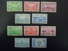 1936 Army/Navy Issues 785-794 MNH OG F/VF