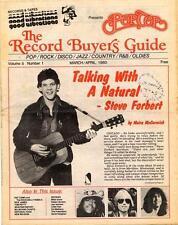 Steve Forbert Rockabilly Tom Petty Weather Report Rick James Mag