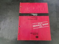 John Deere 230 Shredder-Feeder Operator's Manual   OM-GA10450 Issue H5