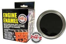 E-Tech Black Heat Resistant Engine Enamel Gloss Paint 250ml