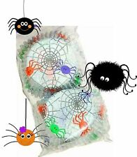 Halloween / Spider Frenzy Cup Cake Cases - Cute Colourful Spiders Pack of 50