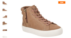 UGG OLLI Amphora Suede High Top Sneakers Shoes Women's sizes 6-11/NEW
