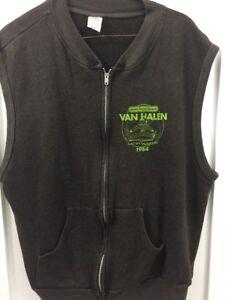 Rare True Vintage 1984 Van Halen Large Concert Sweatshirt Electric Factory