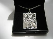 Tree of Life Silver Plated Costume Necklaces & Pendants