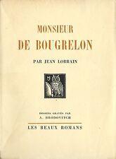 RARE EO ILLUSTRÉE N° JEAN LORRAIN + ALEXEY BRODOVITCH : MONSIEUR DE BOUGRELON