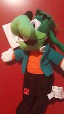 """Disney 8"""" Goofey Goofenstein Bean Bag Beanie NWT Halloween"""