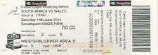 South Africa v Wales 1st Test 14 Jun 2014 Mbombela Stadium RUGBY TICKET