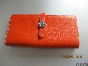 Hermes Paris Orange Purse Wallet