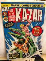 Ka-Zar #6 Waters of Darkness, River of Doom by Conway & Buscema