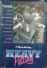 Heavy Petting Original 1989 Single Sided Movie Poster David Byrne Frances Fisher
