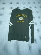 Mens J. America Lambeau Field long sleeve t-shirt - size medium
