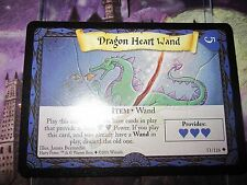 HARRY POTTER TRADING CARD GAME TCG BASIC DRAGON HEART WAND 51/116 UNCO EN MINT