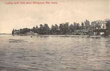 Billingsport New Jersey Looking North From Wharf Antique Postcard K13064
