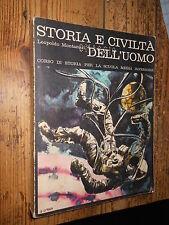 Storia e civiltà dell'uomo Corso di storia Montanari vol. 3 1970 Calderini ed.L2