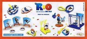 Accessories Rio of Your Choice - Kinder Merendero Joy Italy 2011