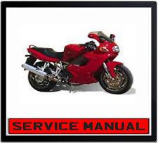 DUCATI ST 2 ST2 1997-2003 BIKE REPAIR SERVICE MANUAL IN DVD