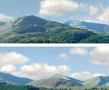 "Scenic Backdrop Mountains 255A  (10' L x 24"" H) Premier HO Scale"