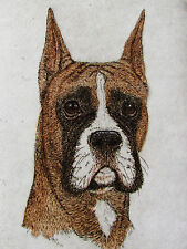 GEOFFREY LASKO - BOXER DOG - ORIGINAL ETCHING - S&N - FREE SHIP