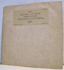 33T 25 cm RAVEL A CLUYTENS  BOLERO - LA VALSE  F Reduit