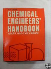 PERRY - CHILTON CHEMICAL ENGINEERS' HANDBOOK 1950
