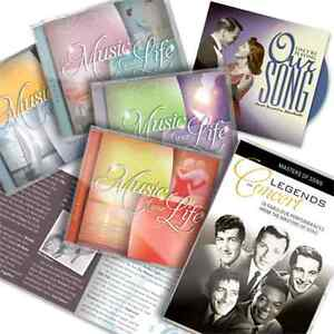 Music Of Your Life Collection 9 CDs + DVD + Booklet - As Seen On TV