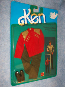 1984 Twice As Nice Reversible Fashions for Ken doll #9116