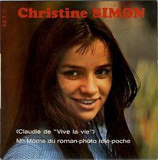Christine Simon (Claudie du feuilleton Vive la vie) Mademoiselle môme Télé Poche