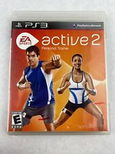 EA Sports Active 2 Personal Trainer Sony PlayStation 3 PS3 2010 With Manual