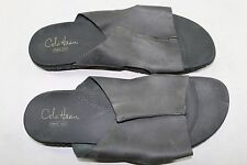 Mens Cole Haan 13 M Black Leather Slides with A068