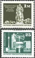 DDR 1968R,2022R mit Zählnummer (kompl.Ausg.) gestempelt 1974/75 Bauwerke