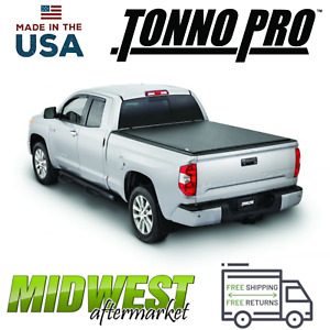 "Tonno Pro Lo-Roll Vinyl Rollup Tonneau Cover For 2004-2019 Nissan Titan 6'6"" Bed"
