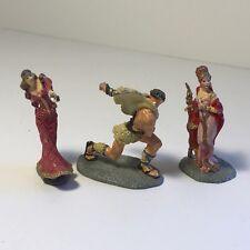 Franklin Mint Enchanted Mountain Figurines Xanth Smash Ogre Jewel Nymph Iris Lot