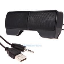 Mini Portable USB Stereo Speaker Soundbar for Notebook Laptop Mp3 Phone PC TN2F