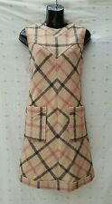 NWT Wool dress jumper lined Haymarket Horseferry Plaid nova check M