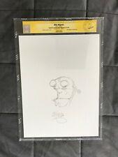 CGC MIKE MIGNOLA Original Art HELLBOY sketch signed creator ss movie 1 2 batman