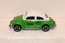 2002 Matchbox VOLKSWAGEN BEETLE TAXI ~ Green & White ~ 1:58 Scale ~ NM