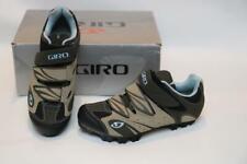 Giro Reva Women's Mountain Bike Shoes 37.5 6.25 Khaki Brown MTB SPD Cycling