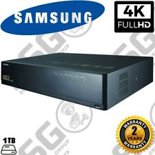 Samsung XRN-2010 32 Channel 4K HD CCTV Network Video Recorder H.265 H.264 MJPEG