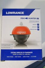 Lowrance Fish Hunter 3D / Castable Wireless Fishfinder New