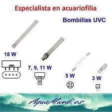 Bombilla germicida UV C Sunsun 7W lampara acuario luz algas plagas G23 CUV 107