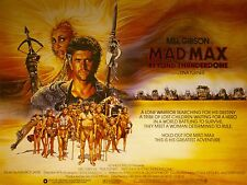 "Mad Max Thunderdome 16"" x 12"" Reproduction Movie Poster Photograph"