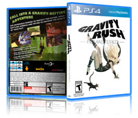 Gravity Rush Remastered - Replacement PS4 Cover and Case. NO GAME!!