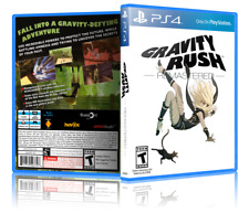 Gravity Rush Remastered - ReplacementPS4 Cover and Case. NO GAME!!