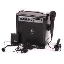 Pyle Portable PA Speaker Amplifier & Microphone System, Bluetooth, Rechargeable