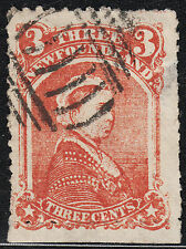 NFLD 3c QV Forgery by Spiro Type I, VF used - NICE