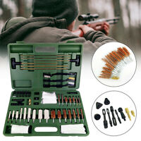 Gun Cleaning KIT Barrel Air Rifle Pistol Airgun Rimfire Shotgun Brushes Set
