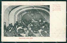 Napoli Vomero Antignano Processione Colera cartolina XB3246
