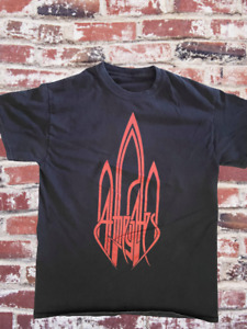 AT THE GATES LOGO RED IN THE SKY TSHIRT MD