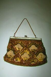 Unique Delicate & lovely antique Lady bag, Embroidered handmade bag