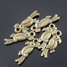 Gold 6x10mm,7x12mm,8x14mm,9x16mm Lobster Parrot Fermoirs Silver bronze R0032